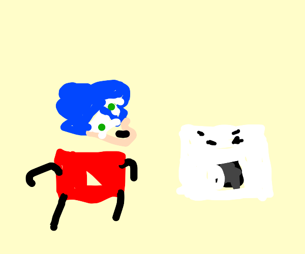 Sonic and YouTube 2 see an oven