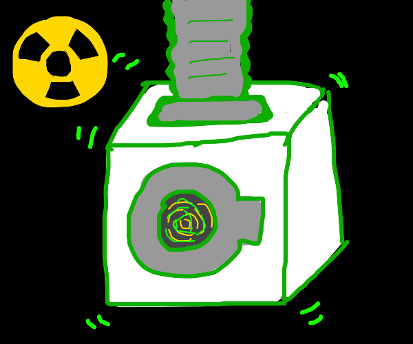 Nuclear laundry machine
