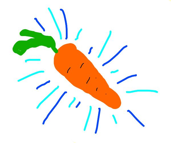 carrot with an aura