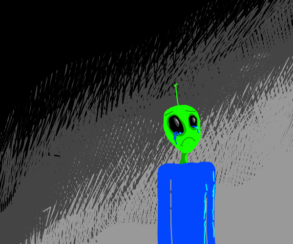 Weird alien thing with DISSAPOINTMENT