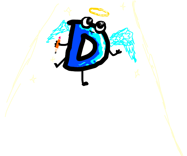 Drawception D is an angel