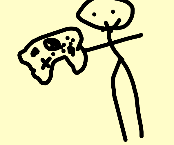 Guy with xbox controller