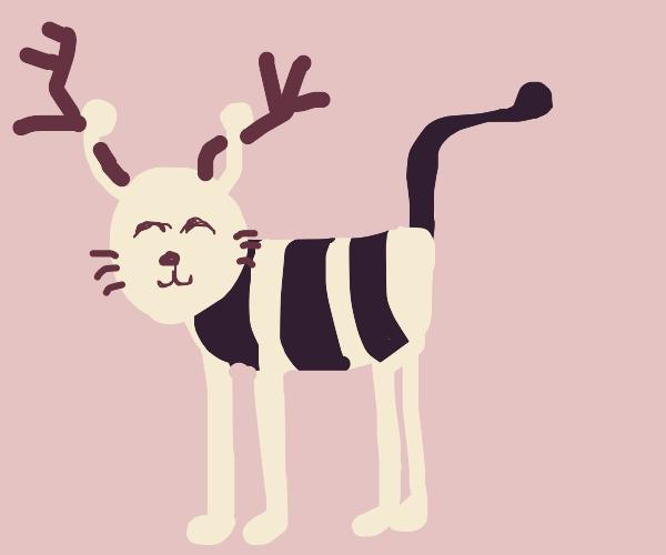 Deer-Bee-Cat Hybrid :)