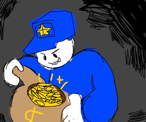 Polite robber