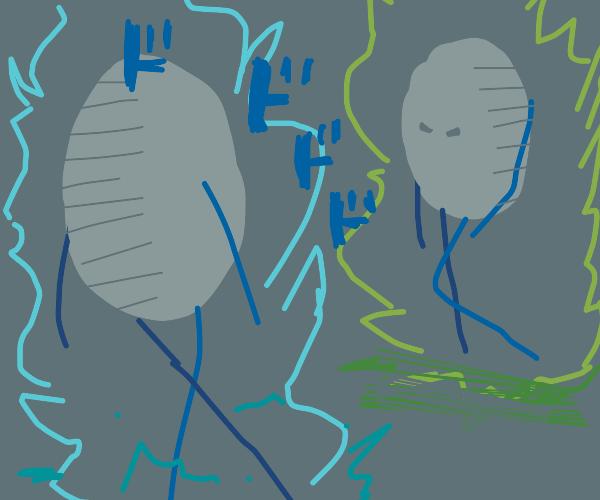 eggs having a batte