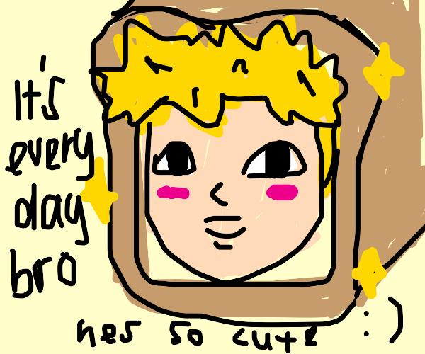 jake paul as cute bread