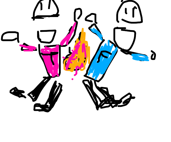 Terrance & Phillip light their farts on fire