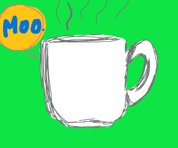 Hot Chocolate goes Moo