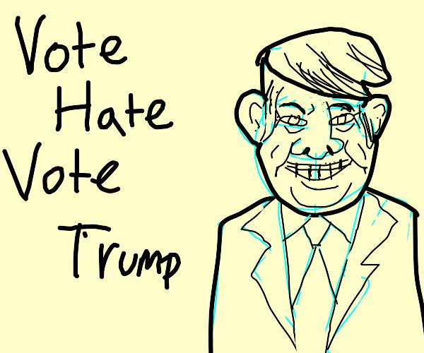 New Meaty Trump Slogan