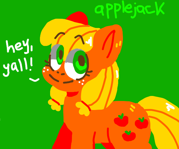 Applejack from mlp
