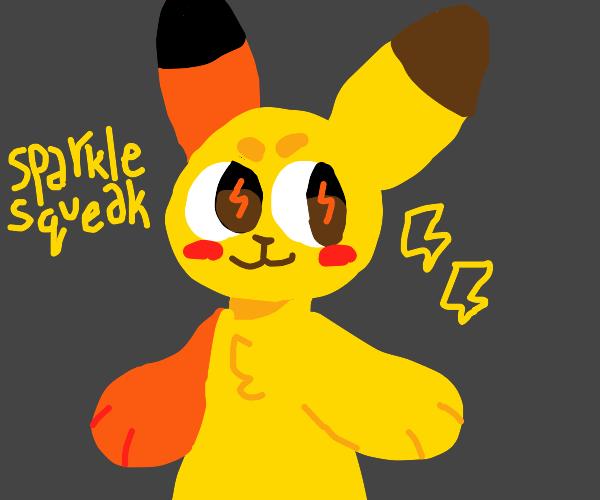 Sparkle squeak