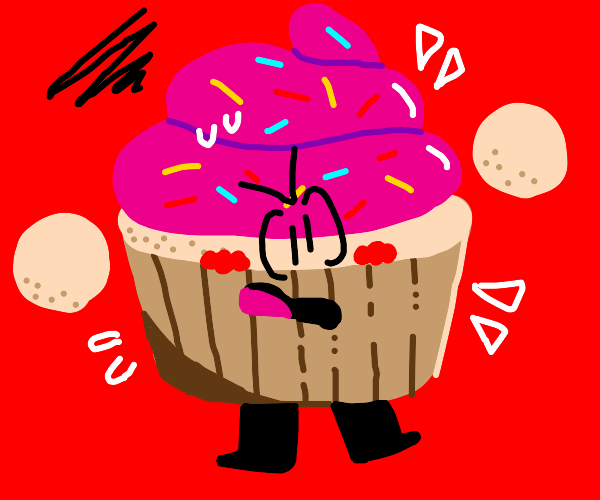 Angey cupcake