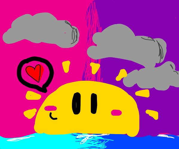 Sun likes you