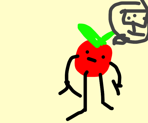 year 2077: we got so smart we became tomatoes
