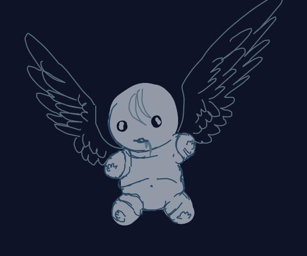 Unexplained Flying Baby