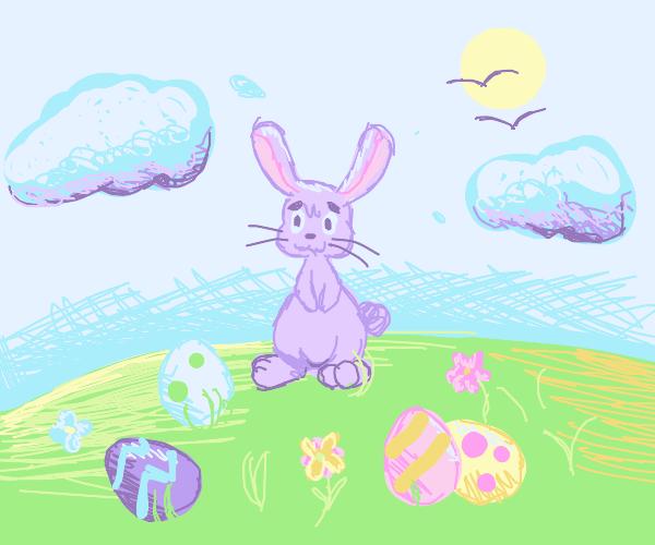 Pastel Easter island!