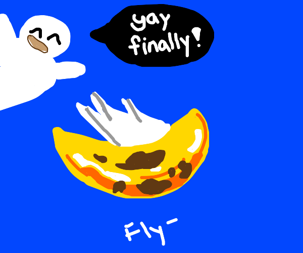 Bananas can fly now.