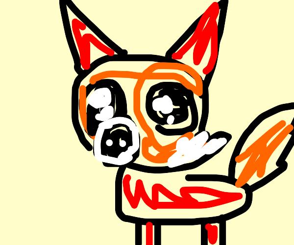 Cute Fox Pup
