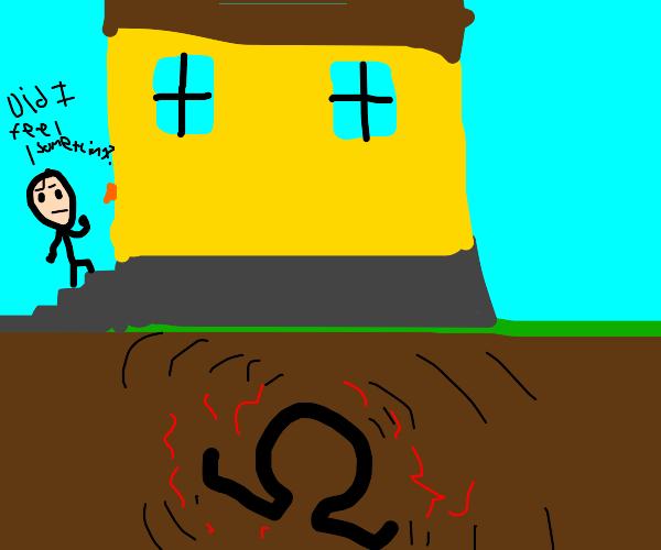 omega under a house