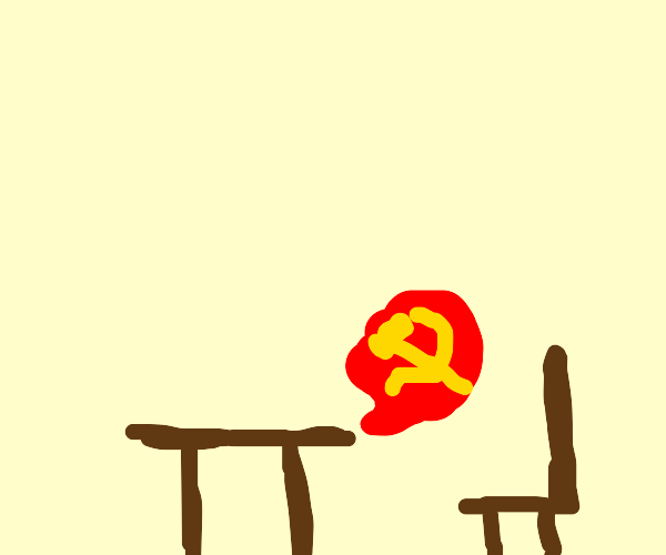 cantreadtext so tabletalks communism to chair
