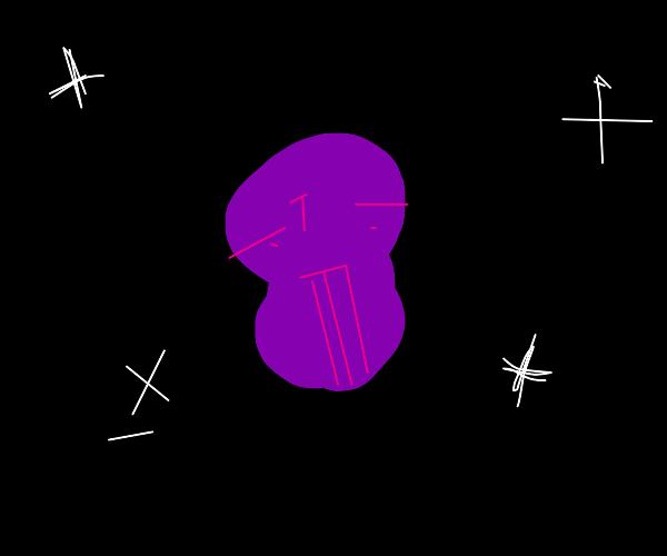 Galactic Purple Peanut