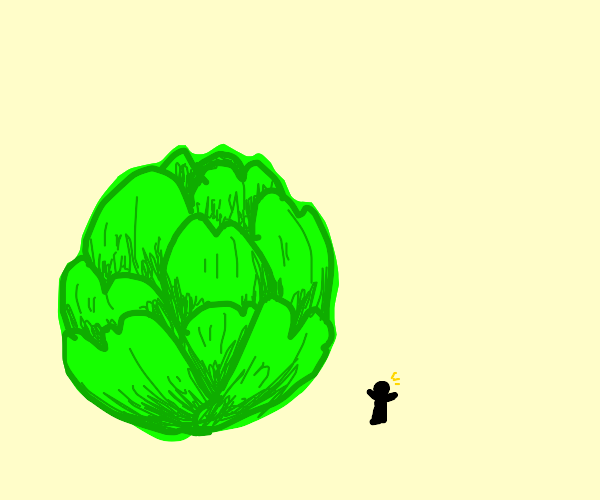 giant brussel sprout
