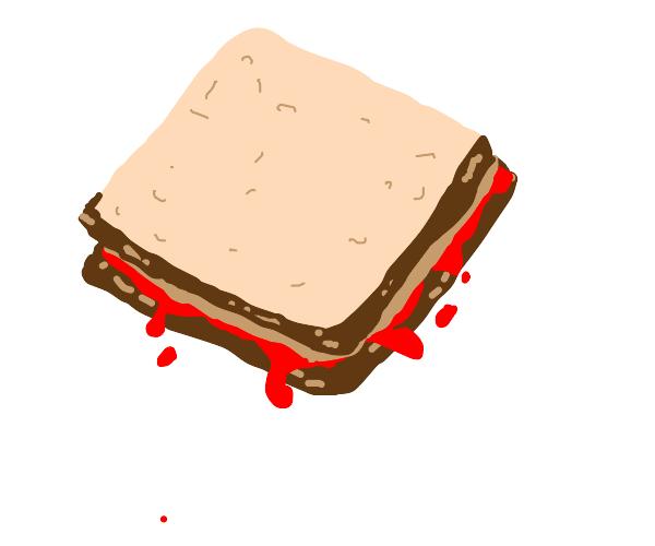 Peanut Butter and Blood Sandwich