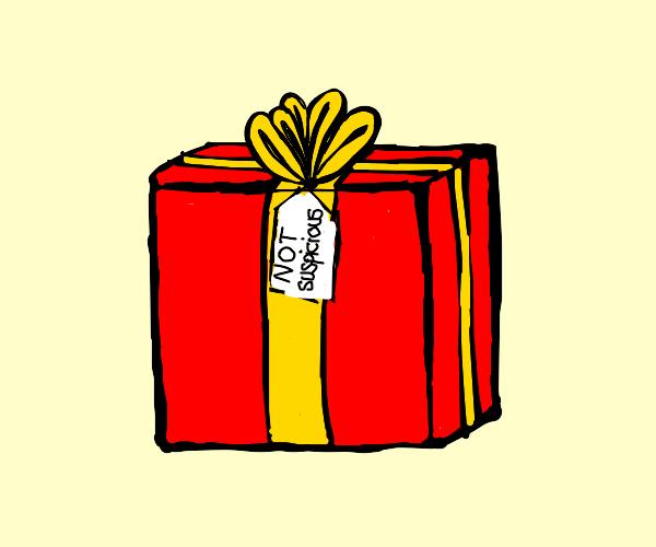 not suspicious present