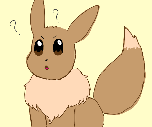 Eevee doesn't know what to think about it