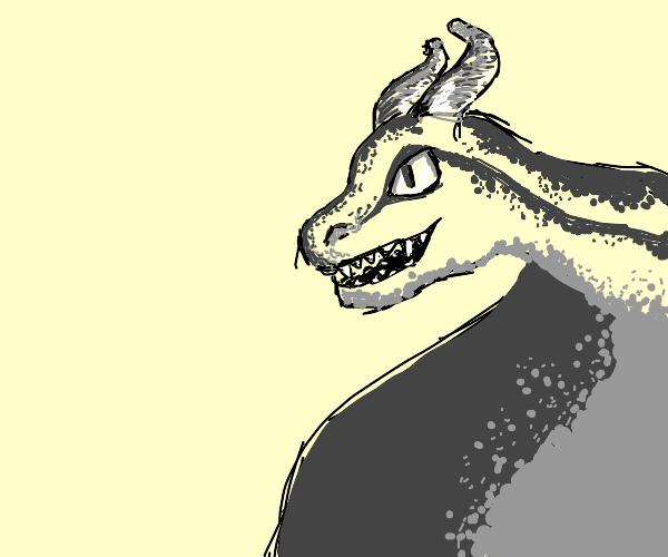 Buff dragon