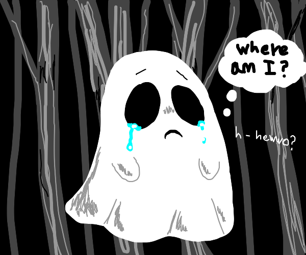 lost ghost crying