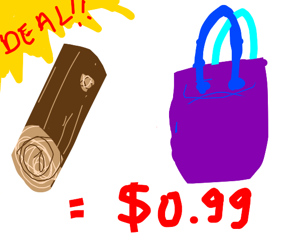 A Log With A Bag is a GREAT Deal!