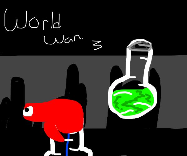 World war 3 will involve chemical warfare