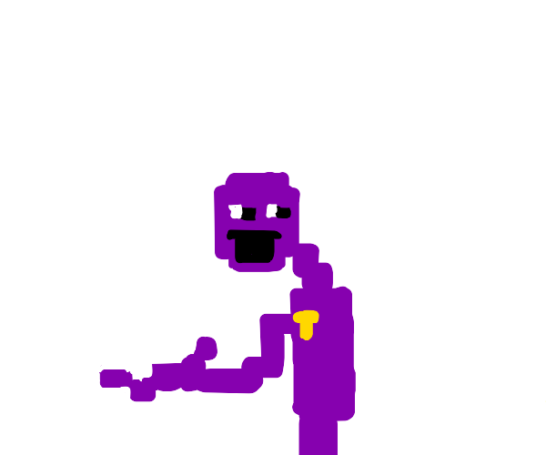 purple guy from fnaf