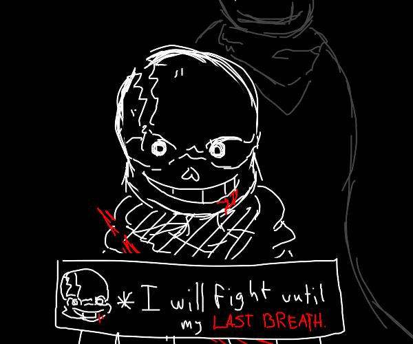 last breath sans