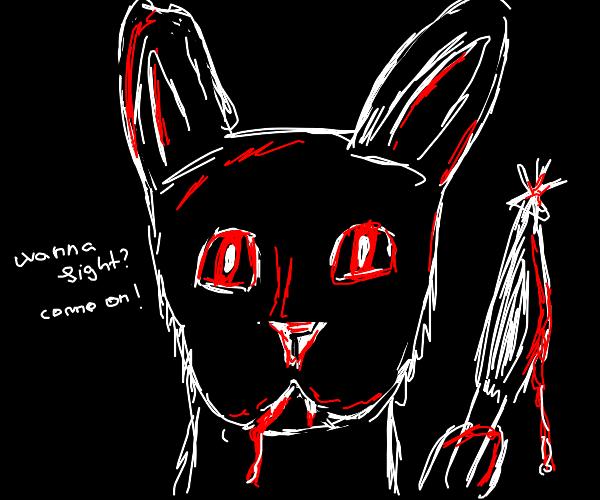 A killer bunny
