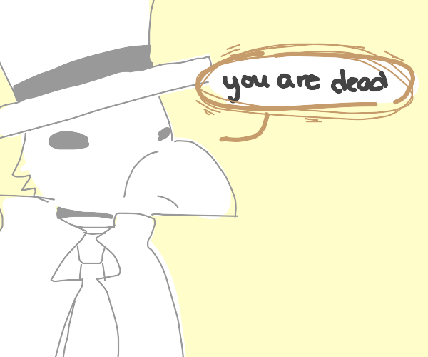 plague doctor diagnoses you with death