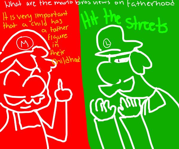Mario And Luigi Drawception