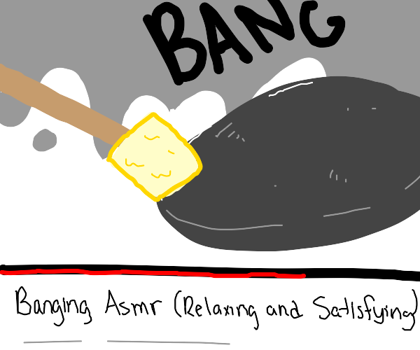 banging on youtube