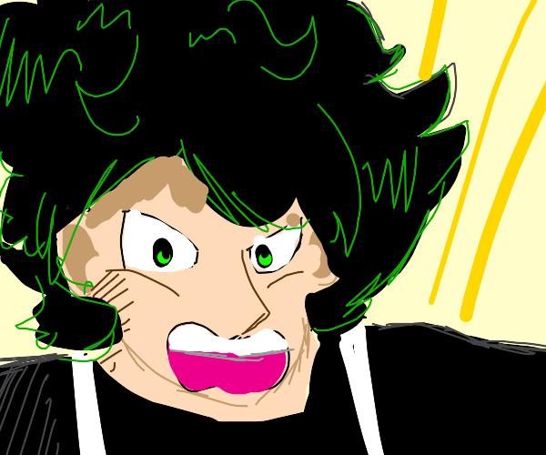 Deku (drawn Dbz style )