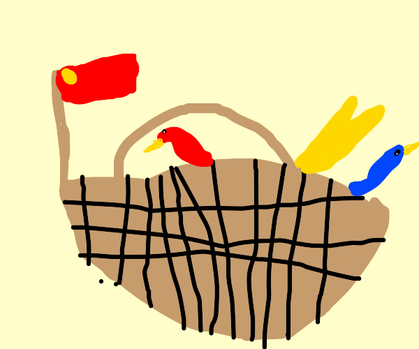 Basket of Chinese Dragons