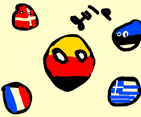 """GermanyBall is surrounded and uh.. """"tortured"""""""