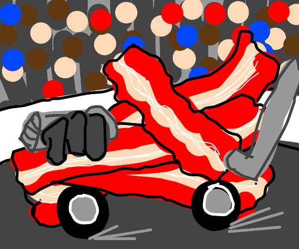 bacon racecar