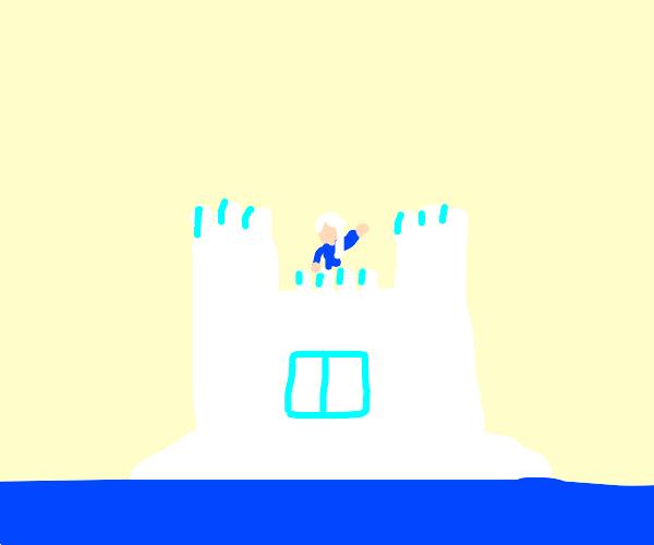 This disney princess living on an island