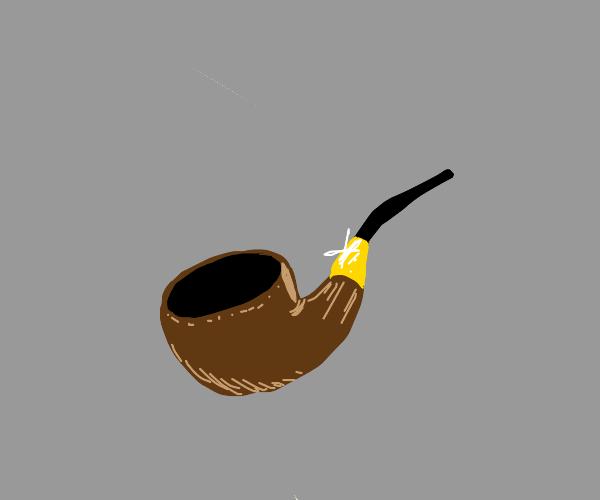 unlit smokepipe