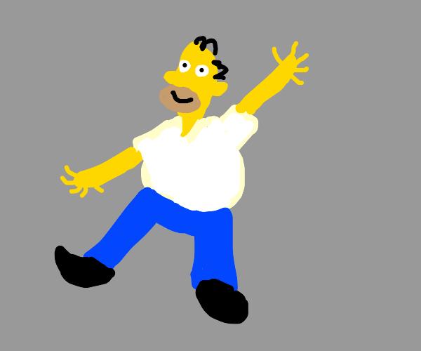 Homer Simpson Dancing