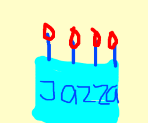 Jazza? is that a birthday cake