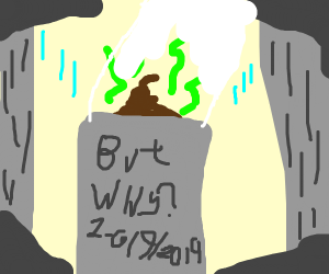 poo-altar