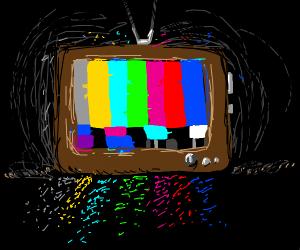 Analog TV got no signal