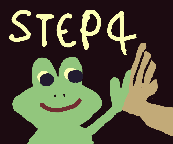 step 3, go to third base with that frog